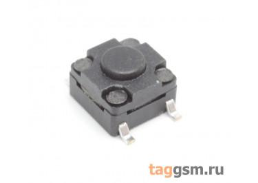 WS-A06A-4.3 Кнопка тактовая влагозащищенная SMD 6х6мм h=4,3мм 4 конт. SPST-NO