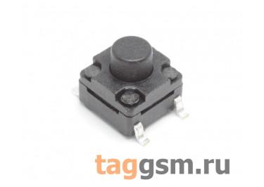 WS-A06A-6.0 Кнопка тактовая влагозащищенная SMD 6х6мм h=6мм 4 конт. SPST-NO