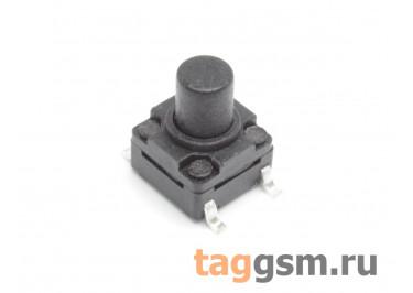 WS-A06A-8.0 Кнопка тактовая влагозащищенная SMD 6х6мм h=8мм 4 конт. SPST-NO