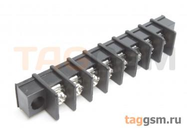 LF411SM-7.62-08P [LF25SM] (Черный) Барьерный клеммник на плату 8 конт. шаг 7,62мм 300В 20А