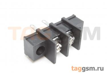 LF413HM-10.0-02P [LF55HM] (Черный) Барьерный клеммник монтажный 2 конт. шаг 10мм 300В 30А