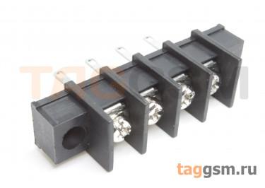 LF413HM-10.0-04P [LF55HM] (Черный) Барьерный клеммник монтажный 4 конт. шаг 10мм 300В 30А