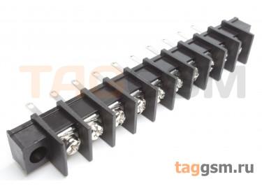 LF413HM-10.0-10P [LF55HM] (Черный) Барьерный клеммник монтажный 10 конт. шаг 10мм 300В 30А