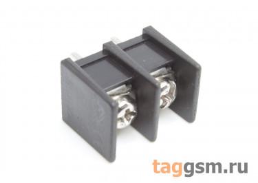 LF413S-10.0-02P [LF55S] (Черный) Барьерный клеммник на плату 2 конт. шаг 10мм 300В 30А