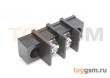 LF413SM-10.0-02P [LF55SM] (Черный) Барьерный клеммник на плату 2 конт. шаг 10мм 300В 30А