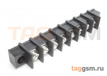 LF413SM-10.0-08P [LF55SM] (Черный) Барьерный клеммник на плату 8 конт. шаг 10мм 300В 30А
