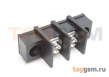 LF413SM-11.0-02P [LF65SM] (Черный) Барьерный клеммник на плату 2 конт. шаг 11мм 300В 30А