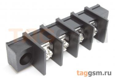 LF413SM-11.0-04P [LF65SM] (Черный) Барьерный клеммник на плату 4 конт. шаг 11мм 300В 30А