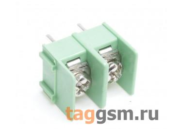 LF421SP-7.62-02P [LF7620] (Зеленый) Барьерный клеммник на плату 2 конт. шаг 7,62мм 300В 20А