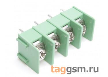 LF421SP-7.62-04P [LF7620] (Зеленый) Барьерный клеммник на плату 4 конт. шаг 7,62мм 300В 20А