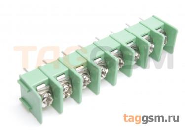 LF421SP-7.62-08P [LF7620] (Зеленый) Барьерный клеммник на плату 8 конт. шаг 7,62мм 300В 20А