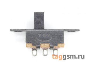 SS-12F15G5 Переключатель движковый на панель ON-ON SPDT 30В 0,3А