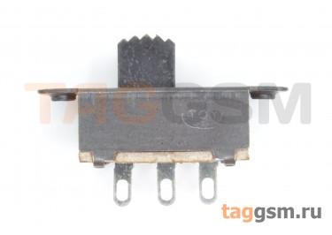 SS-12F25G5 Переключатель движковый на панель ON-ON SPDT 30В 0,3А
