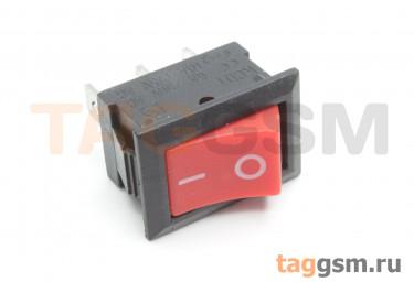 KCD1-102-C3-R / B Переключатель на панель красный ON-ON SPDT 250В 6А (24x17мм)