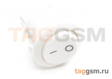 KCD1-5-102-C3-W / W Переключатель на панель белый ON-ON SPDT 250В 6А (19мм)