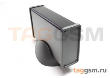 BAD 11003-B7(W120) Корпус алюминиевый настольный чёрный 76x33x120мм