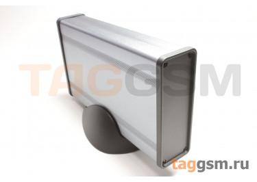 BAD 11001-A1(W160) Корпус алюминиевый настольный серый 96x33x160мм