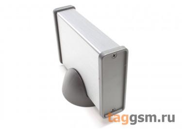 BAD 11005-B1(W90) Корпус алюминиевый настольный серый 62x20x90мм