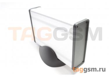 BAD 11001-A2(W140) Корпус алюминиевый настольный серебристый 96x33x140мм