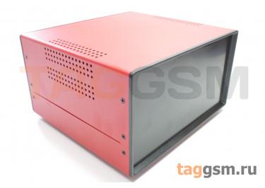 BDA 40008-A5(W195) Корпус стальной настольный красный 220x120x195мм