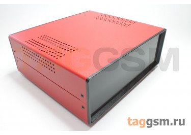 BDA 40007-A5(W195) Корпус стальной настольный красный 220x80x195мм