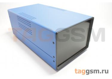 BDA 40005-A6(W275) Корпус стальной настольный синий 150x110x275мм