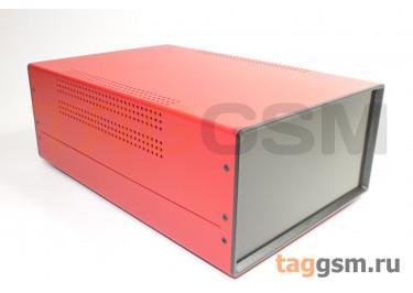 BDA 40008-A5(W325) Корпус стальной настольный красный 220x120x325мм
