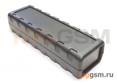 AK-S-90 Корпус пластиковый настольный черный 114x38x25.8мм (0,039кг)
