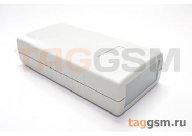 AK-S-60 Корпус пластиковый настольный белый / серый 119x60x30мм (0,061кг)