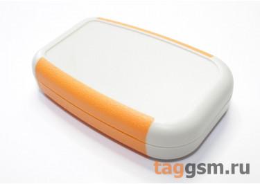 AK-H-11 Корпус пластиковый мобильный белый / оранжевый 75x50x17мм (0,035кг)