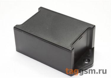 AK-W-07 Корпус пластиковый навесной черный 76x40x28мм (0,025кг)