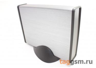 BAD 11004-B1(W160) Корпус алюминиевый настольный серый 125x33x160мм