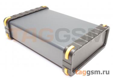 BAD 11002-C2(W140) Корпус алюминиевый настольный чёрный 96x33x140мм
