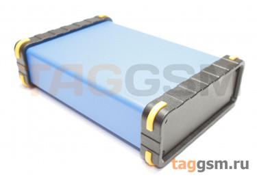 BAD 11002-C6(W140) Корпус алюминиевый настольный синий 96x33x140мм