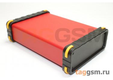 BAD 11002-C5(W140) Корпус алюминиевый настольный красный 96x33x140мм