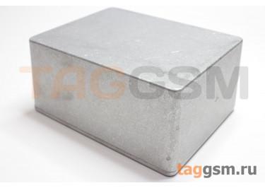 1590C Корпус алюминиевый настольный серебристый 120x94.5x50мм (0,266кг)