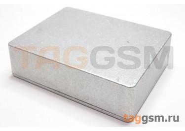 1590BB Корпус алюминиевый настольный серебристый 120x94.5x34мм (0,24кг)