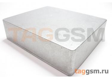 1590XX Корпус алюминиевый настольный серебристый 145x121x39.5мм (0,35кг)