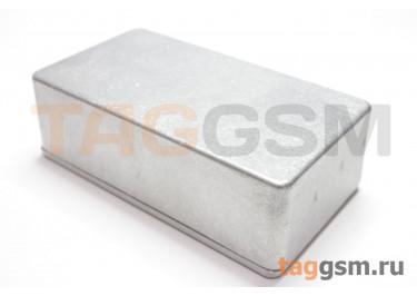 125B Корпус алюминиевый настольный серебристый 122x66x39.5мм (0,182кг)