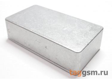 1590B Корпус алюминиевый настольный серебристый 112x61x32мм (0,135кг)