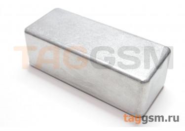 1590A Корпус алюминиевый настольный серебристый 92.5x38.5x31мм (0,082кг)