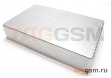1590DD Корпус алюминиевый настольный серебристый 188x119x37.5мм (0,48кг)