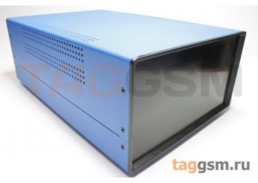 BDA 40008-A6(W325) Корпус стальной настольный синий 220x120x325мм