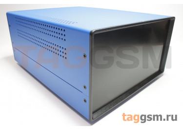 BDA 40008-A6(W275) Корпус стальной настольный синий 220x120x275мм