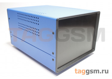 BDA 40005-A6(W195) Корпус стальной настольный синий 150x110x195мм