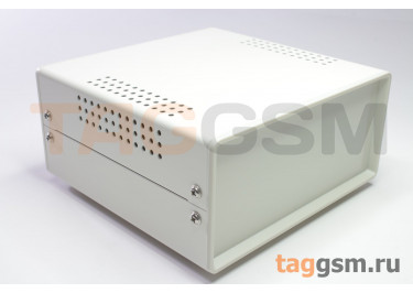 BDA 40004-A1(W140) Корпус стальной настольный белый 150x70x140мм