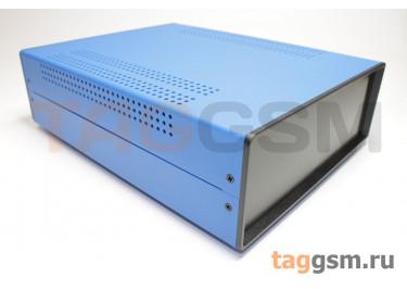 BDA 40007-A6(W275) Корпус стальной настольный синий 220x80x275мм