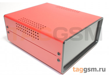 BDA 40004-A5(W170) Корпус стальной настольный красный 150x70x170мм