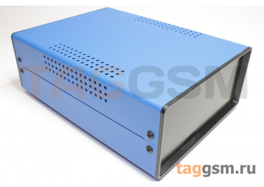 BDA 40004-A6(W200) Корпус стальной настольный синий 150x70x200мм