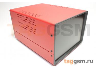 BDA 40005-A5(W195) Корпус стальной настольный красный 150x110x195мм
